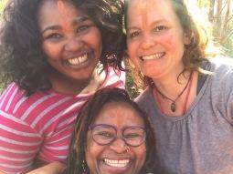 Dr Makgati Mokwena, Noxi Blandile and Aja Marneweck